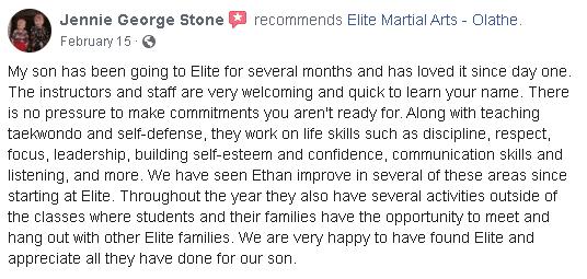 Elite Martial Arts Olathe Reviews Facebook, Elite Martial Arts Olathe KS